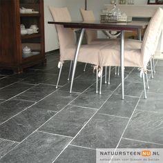 Silver Grey Kwartsiet - Vloertegels - NatuursteenNU