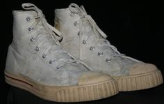 1940s Converse Style Men's Basketball Shoes