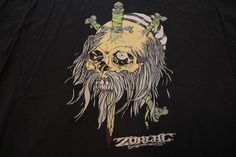 Zorlac t-shirt original 80's  #Zorlac #GraphicTee
