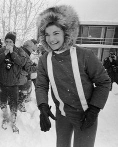 Jackie Kennedy in Aspen, December 29, 1964.