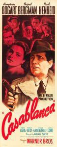 Casablanca (Warner Brothers, 1942). Insert (14