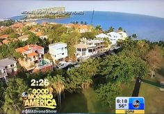 Good Morning America Features #MiamiLuxuryHomes Drone Video
