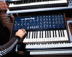 """The Korg Mono/Poly, another of Hansen's favorites, was """"designed as the Japanese Minimoog."""""""