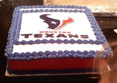 Houston Texans Groom's Cake