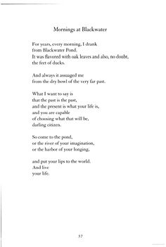 Poems By Mary Oliver 5