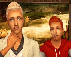 100 Best Sims 2 Hair Male Images On Pinterest Sims 2 Hair