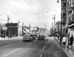 [Granville Street at 12th Ave, looking south] - City of Vancouver Archives