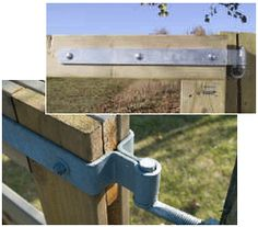Heavy Duty Double Strap Hinges