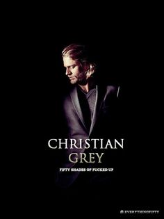 Fifty shades of grey - how disappointed with this choice.... So not a Christian Grey!