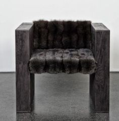 Rick Owens Evolution 'Biblical, Brutalist, Bauhaus and Bakersfield…' Evolution by its very definition suggests change. The design. Rick Owens, Interior Architecture, Interior Design, Take A Seat, Sofa Chair, Furniture Collection, Decoration, Art Nouveau, Furniture Design