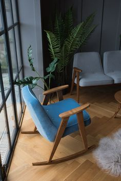 Mid-Century Modern interiors at Rose & Grey