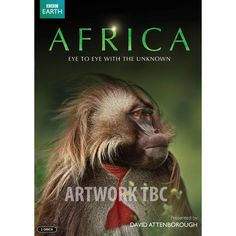 This years BBC WILDLIFE TV SPECTACULAR is sure to warm our cockles, captivate our minds and leave us in awe of a wild continent. Sir David Attenborough brings us Africa. David Attenborough, Bbc, Dvd Film, Best Documentaries, Pictures Of The Week, Primates, Mammals, Congo, Amazing Nature