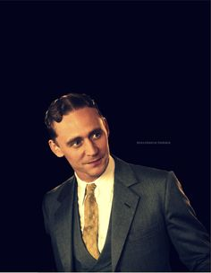 Tom Hiddleston's F. Scott Fitzgerald.