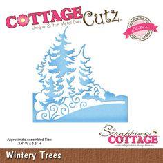CottageCutz Wintery Trees (Elites)