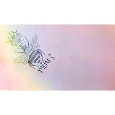 Will you mine ?!  •#February#doodle#sketchbook#lettering#bee#bemine#valentine#bumblebee#draw#handmade#selftaught#art#instaart#instadraw#drawing#pencil#thursday#potd#sketchoftheday#handlettering#handtype#doodling#rainbow#bugs#bemyvalentine#✏️##❤️#honeybee#