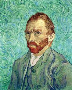 WHODUNIT? Van Gogh's 1889 self-portrait.