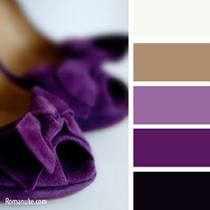 Deep Velvety Shades Of Eggplant, Amethyst, & Plum, Brought To Life With The Addition Of A Warm Shade Of Camel.