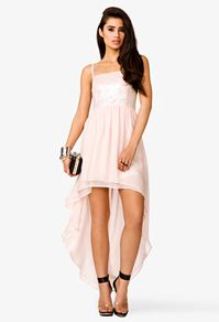 Sequined High-Low Dress Forever 21   $34.80