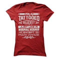 TATTOOED HERMIT - AMAZING T SHIRTS