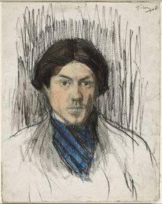 Pablo Picasso - Self Portrait, 1902