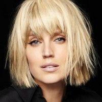 blonde bob hairstyle