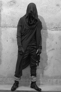 Rick Owens design. Oh dear lord, somebody pleeaaase get me this!! It's so mysterious and rugged and badass. I really need this.