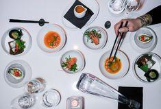 Kaiseki Zensai, part of the Miku Toronto NYE Kaiseki Dinner Menu. (Photo: Steven Branco for View the VIBE) Dinner For 2, Dinner Menu, Nye, Toronto, Canning, Drinks, Food, Drinking, Beverages