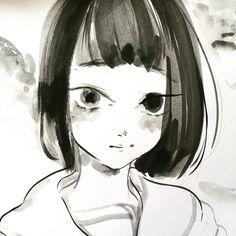Alice Arabesque — A girl with bobbed hair