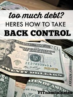 If debt is hanging over your head and creditors are calling your house, your situation might seem bleak. While you can't snap your finger and get rid of debt, you can take practical steps to quickly minimize how much you owe and regain control of your financial life. Money Tips, Money Saving Tips, Paying Off Student Loans, Financial Tips, Financial Planning, Saving For Retirement, Managing Your Money, Budgeting Money, Debt Payoff