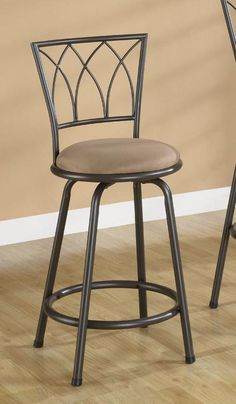 Shop Coaster Fine Furniture Bar Stool (Set of at Lowe's Canada. Find our selection of bar stools at the lowest price guaranteed with price match. Counter Height Chairs, Counter Height Bar Stools, 24 Bar Stools, Metal Bar Stools, Swivel Bar Stools, Metal Stool, Coaster Fine Furniture, Home Bar Furniture, Luxury Furniture
