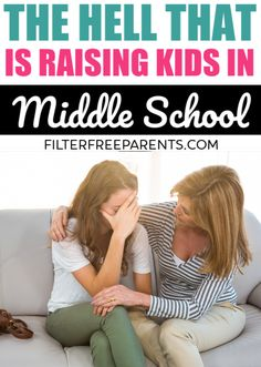 Parenting tweens and teens in middle school or junior high is no joke. Sometimes it can feel like hell. But here's how you survive the junior high years with your kids. #teens #tweens #parenting #middleschool