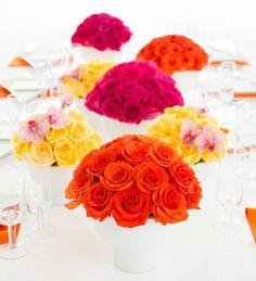 Pop art wedding inspiration: http://www.stylemepretty.com/2014/08/19/pop-art-wedding-inspiration/ | Photography: http://www.amandahein.com/