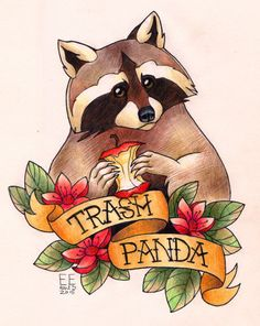 Trash panda ✌️