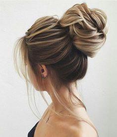 Updo bun briade hairstyle