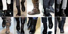combat boots runway - Google Search