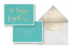 Kate Spade wedding invite on Paperless Post. Paperless Post, Invite, Wedding Invitations, Kate Spade, Typography, Texture, Drink, Creative, Fabric