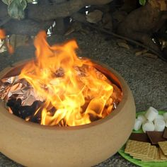 Make a Portable Fire Pit in Just 5 Minutes!