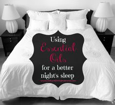 Essential Oils for a Better Nights Sleep - Natural Living Mamma