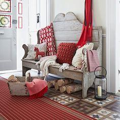 Colourful hall floor | Hallway flooring ideas | Decorating | housetohome.co.uk