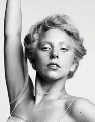 I actually think Lady Gaga looks very cute without makeup.