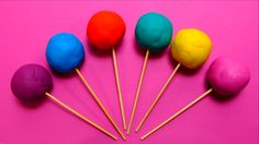 Play-Doh Lollipop Surprise Balls with Toys Hello Kitty, Smurf, Filly & ???