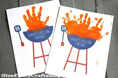 Hi friends! With Father'sDay just around the corner, I figured I would share a SIMPLEkid craft idea that can be easily framed and turned into a gift on the fly. ThisHandprint Daddy's Grilling Partner Keepsakew/free printable templateis super easy to make within minutes and it's relatively inexpensive too. If you have a printer in your …