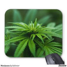 Marijuana Mouse Pad
