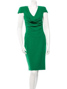 Alexander McQueen Wool Dress