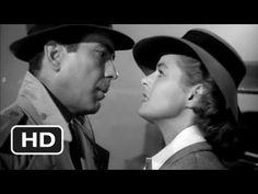 Casablanca - Humphrey Bogart, Ingrid Bergman - Here's Looking At You, Kid