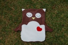 Hot Water Bottle Cover - Owl