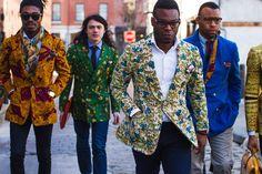 Love the African print blazers  #Hagereseb #AfricanFashionista #HageresebFashionista