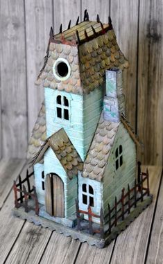 Little Victorian style house