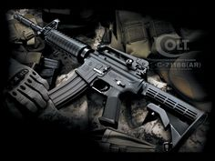 M4 Carbine Grenade Launcher Wallpaper