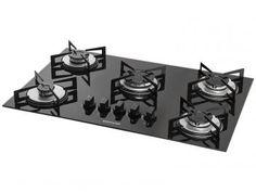Cooktop 5 Bocas Suggar FG5005VP a Gás - Acendimento Superautomático